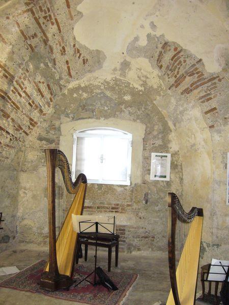 lanterna, ambiente della cappella annessa