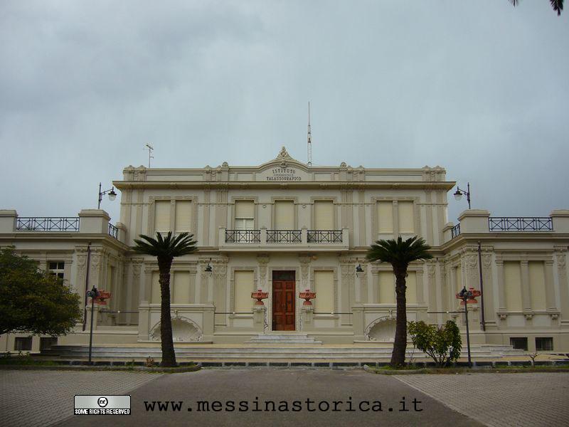 Talassografico Messina, prospetto principale